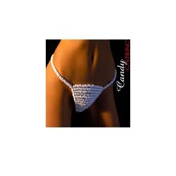G-String sexy en bonbon - taille unique (fun)